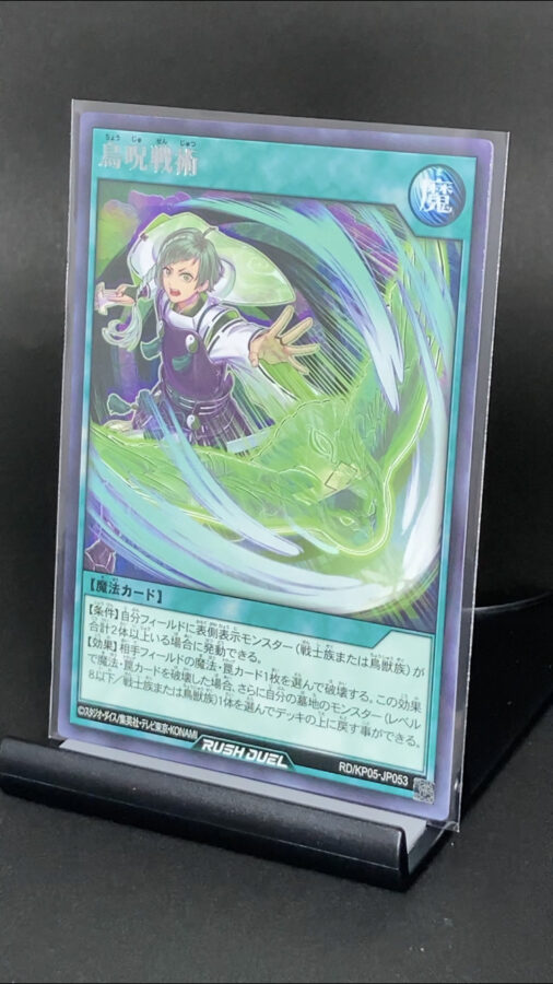 RD/KP05-JP053 鳥呪戦術 (レア)